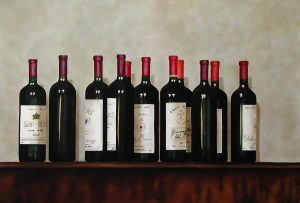 Wine Bottles 73x50cm Starmer Bournemouth