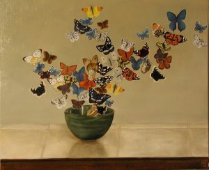Butterfly bowl 45x30cm London