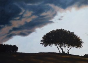 Green Oak Cloud Oil on Canvas 81x65cm