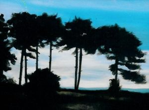 Whistling Trees, 35x27cm, Brenas