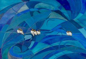 Watcha doin'..... Oil on Canvas 50x73cm