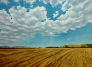 The Field Where Florence Flew... Oil on Canvas 81x60cm