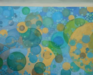Below Oil on Canvas 62 x 85 cm