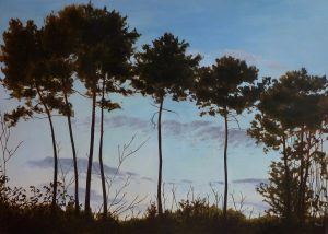 Big Pines Oil on Canvas 92x65cm
