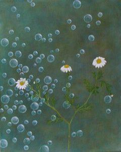Daisy Bubbles, 33x41cm Nebian