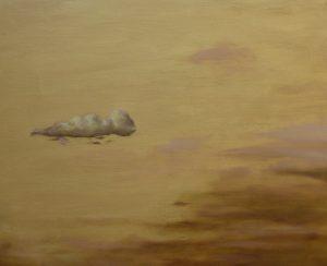 Golden Cloud, 34x26cm, St Privat