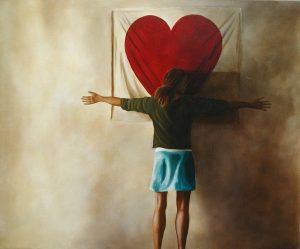 Big Heart, 55x45cm, Bagshot