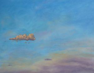 Little Cloud, 34x26cm, St Privat