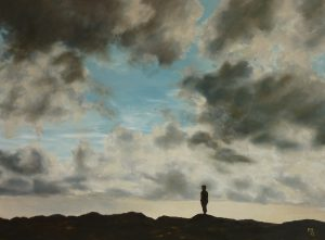 Lonesome Sky Oil on Canvas 61 x 80 cm