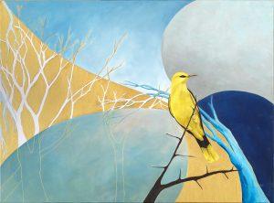 Golden Oriole Oil on Canvas 81x60cm