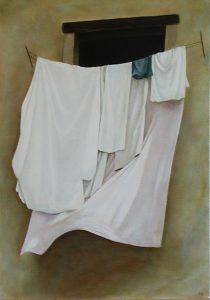 Clean Sheets, 50x65cm, Warrington