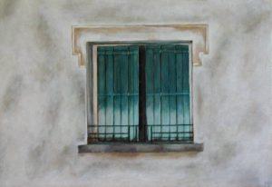 Nebian Window, 55x38cm