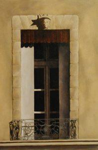 Pezenas Balcony, 38x55cm, Shalbourne