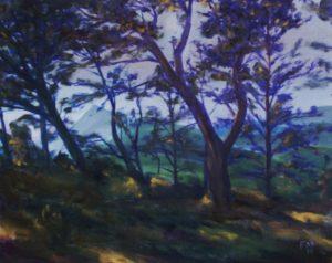 Pic de Visou, alla prima oil on canvas
