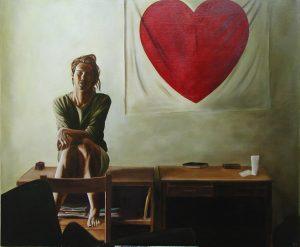 Self Portrait, 80x65cm