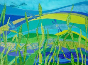 Dragonflies Oil on Canvas 61x46cm