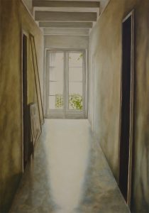 Mourning Light Oil on Canvas 65x92cm
