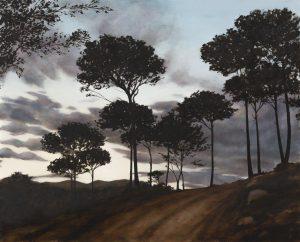 Evening Pines - Umber